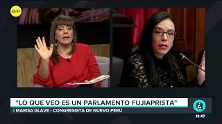 """Glave tras anuncio de Vizcarra: """"Creo que no hay confianza en el Parlamento"""""""