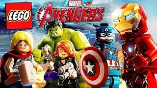 КОМАНДА СУПЕРГЕРОЕВ LEGO Marvel's Avengers - Первый обзор!