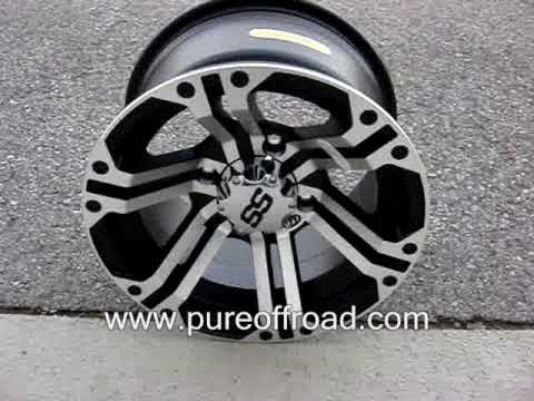 ITP SS212 ATV Wheels, Machined