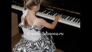 Платье Королева Юбка - Crochet dress - вязание крючком