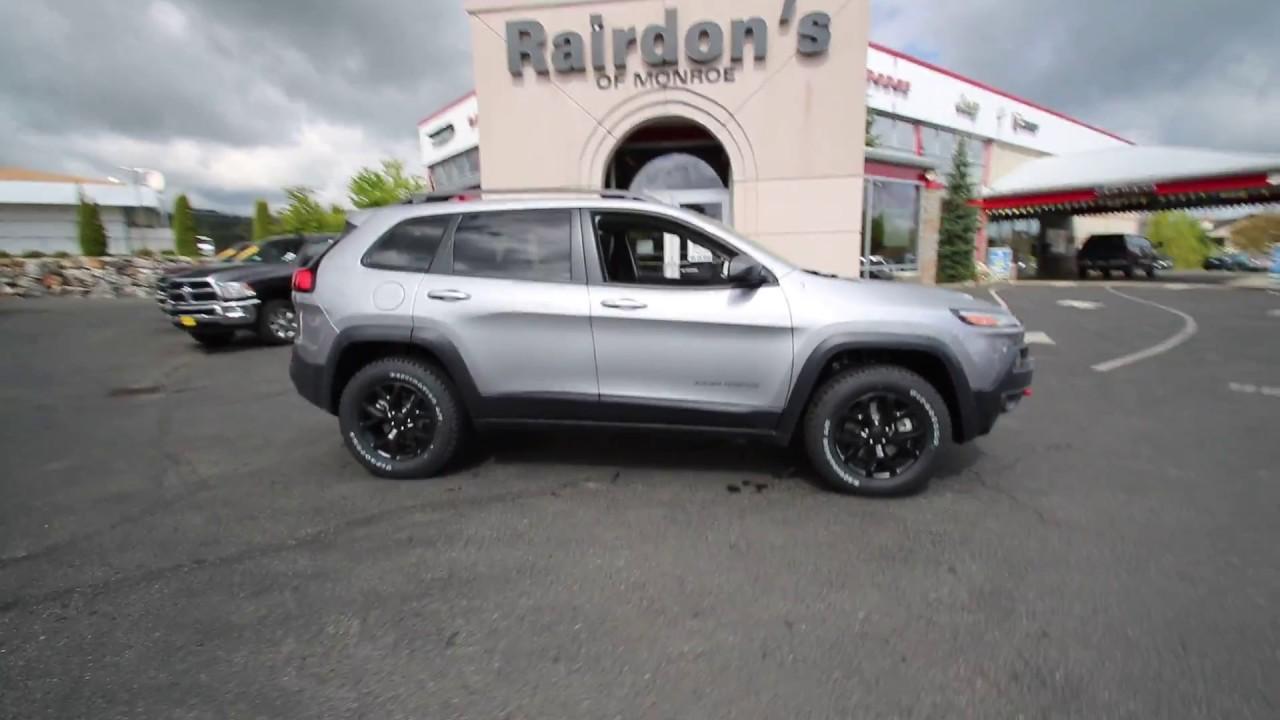 2017 jeep cherokee trailhawk | billet silver | hw665490 | everett