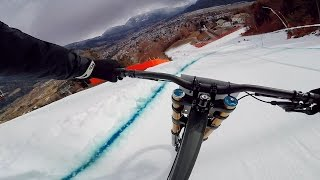 Downhill Racing On Snow - Ride Hard On Snow 2016