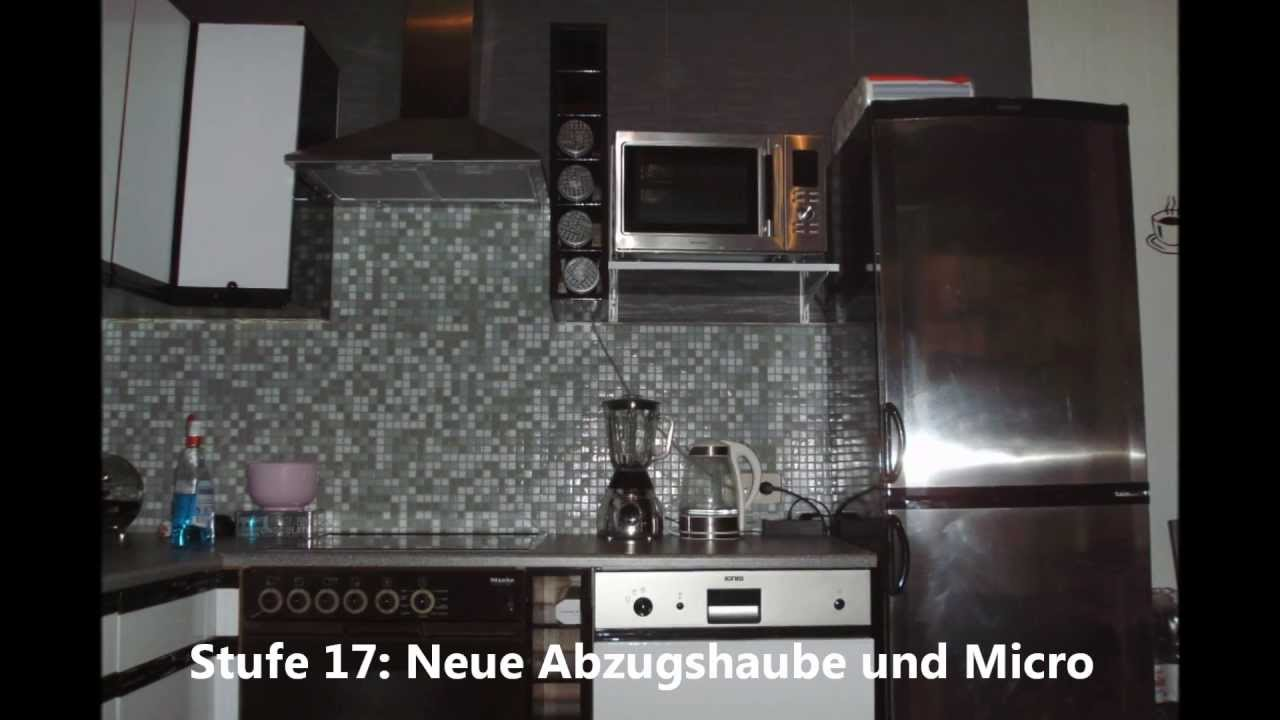 k chenrenovierung vorher und nachher full hd youtube. Black Bedroom Furniture Sets. Home Design Ideas