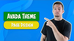 Avada Theme - Example Page Design Template