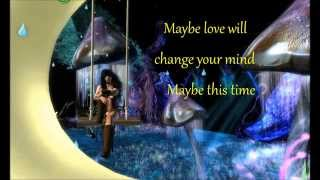 Stevie Nicks  ~ maybe love will change your mind ~ lyrics