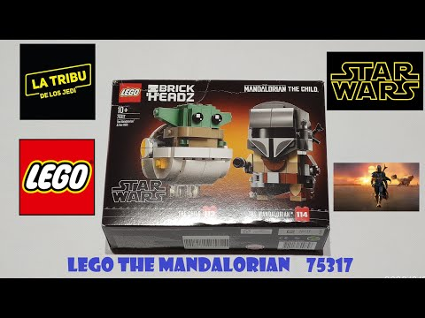 LEGO BRICK HEADZ 75317 THE MANDALORIAN THE CHILD-SpeedBuild