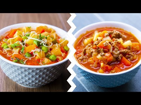 7 Healthy Soup Recipes For Weight Loss Healthy Food Videos