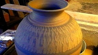 Simple Pottery Decoration tips : The Chattering Tool Design
