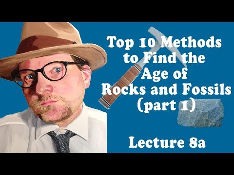 geologic time dating methods