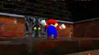 Super Mario 64 - Big Boo's Balcony