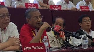 Tun M: I was wrong about DAP