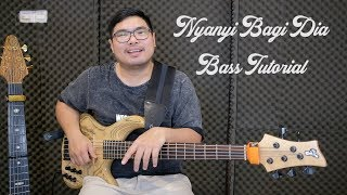Bass Tutorial : Nyanyi Bagi Dia (Vicky Arif Setiawan)