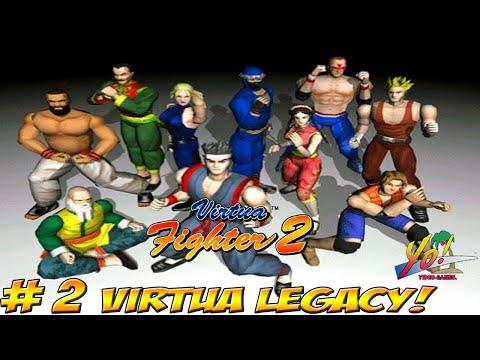 Virtua Legacy! Virtua Fighter 2 Sega Saturn! Part 2 - YoVideogames