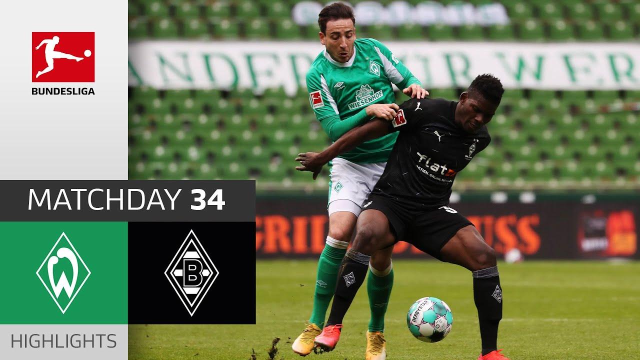 Download SV Werder Bremen - Borussia M'gladbach   2-4   Highlights   Matchday 34 – Bundesliga 2020/21