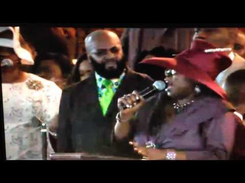 James Hall & Wap, Tunesha Crispell tribute to Melvin Crispell