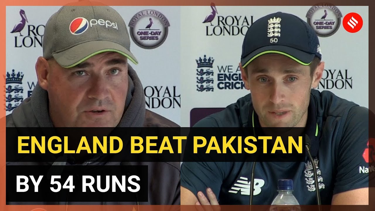 England vs Pakistan ODI: England beat Pakistan by 54 runs