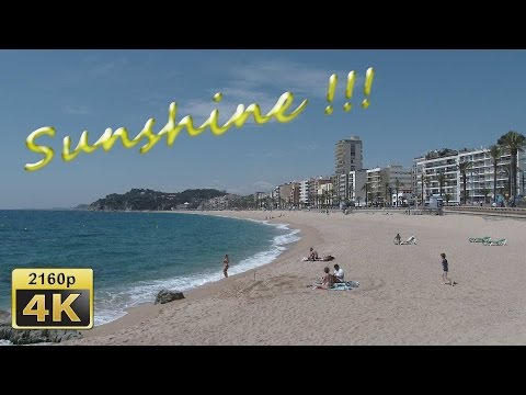 Lloret de Mar, Catalonia - Spain 4K Travel Channel