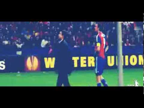Salzburg vs Basel - Basel Fans Threw Water Bottles To The Umpire Europa League HD 2014