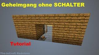 GEHEIMTÜR ohne SCHALTER | 100% sicher & EINFACH zu bauen