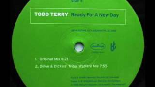 NICHE CLASSIC - TODD TERRY - READY FOR A NEW DAY - (Dillon & Dickins