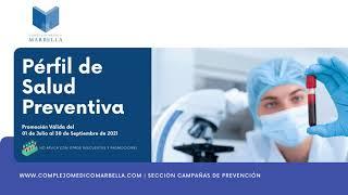 Perfil de Salud Preventiva, Complejo Médico Marbella