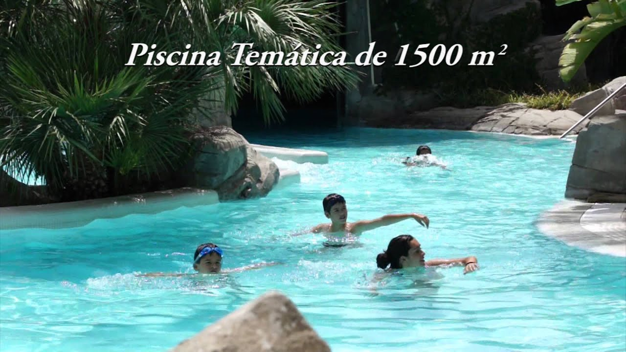 parque acu tico y piscina en bonalba golf resort youtube