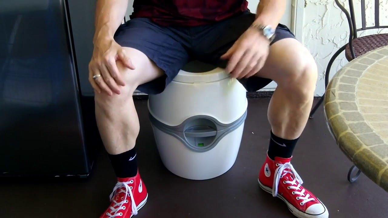 Thetford 92360 Model 550E Toilet Review   YouTube