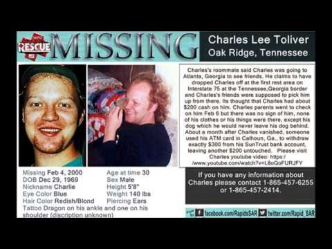 Charlies Toliver missing from Oak Ridge, Tennessee on February 4, 2000