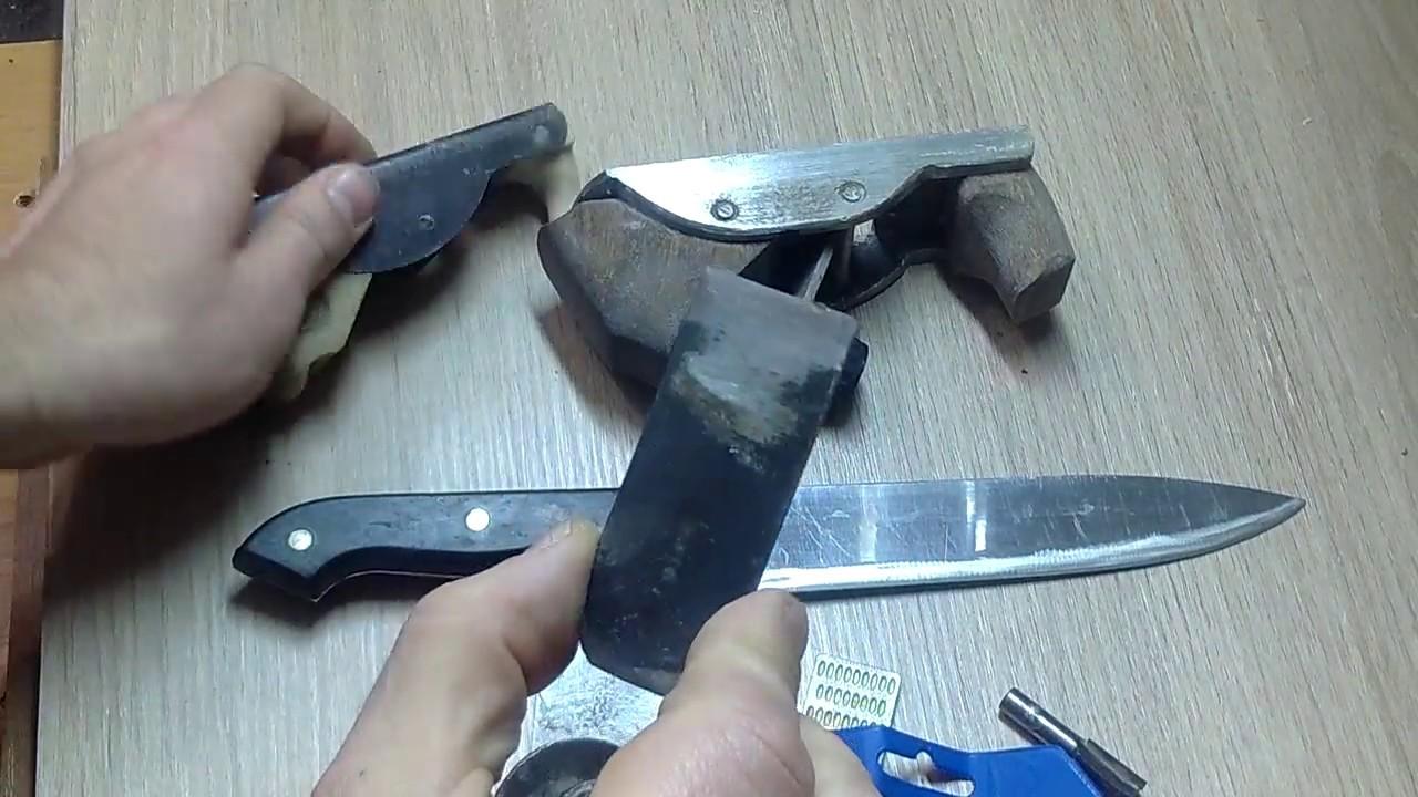 Для наждака приспособления для заточки ножей своими руками