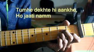 Sanam Teri Kasam By Ankit Tiwary Detailed Guitar Tutorial HD