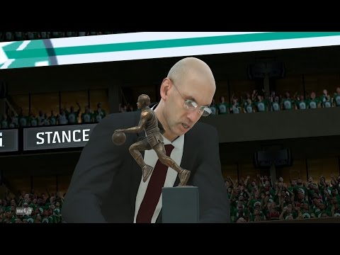NBA 2K17 My Career - MVP Award! Playoffs QFG1! PS4 Pro