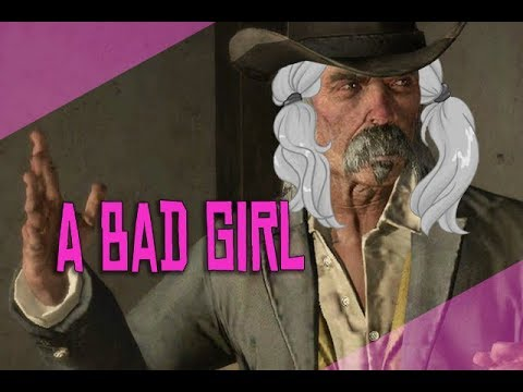 bad girls deserve to be spanked (gamerpoop red dead redemption)