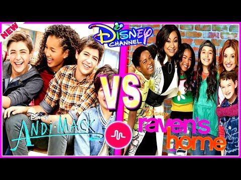 Andi Mack VS Ravens Home Musical.ly Battle 🔥 Top Disney Channel Stars Musically 2018