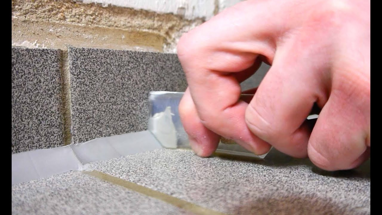 silikonfuge ziehen im sanitärbereich bad dusche - youtube