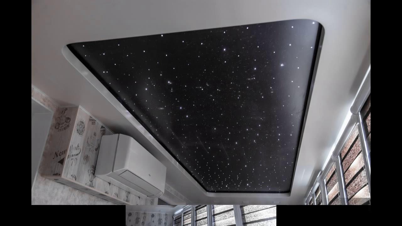 Подвесной потолок на балкон своими руками
