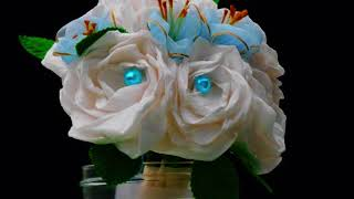 How To Make Paper Flowers -bouquet Of Roses