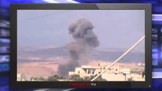 ВКС России бомбят террористов ИГИЛ под Хамой в Сирии 11 10 2015 Новости России Сирии