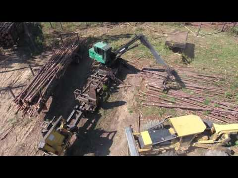 Delimber and Loader - YouTube