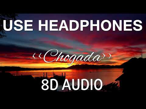 Chogada 8d Audio  Loveratri  Aayush Sharma  Warina Hussain  Darshan Raval, Lijo-dj Chetas