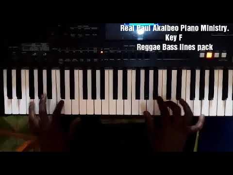 Higher - Ps Edwin Dadson - Reggae Piano Bassline Tutorial
