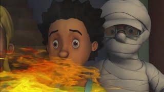 Strażak Sam ⭐️ Ogień zombie! Nowe odcinki | Kreskówki dla dzieci