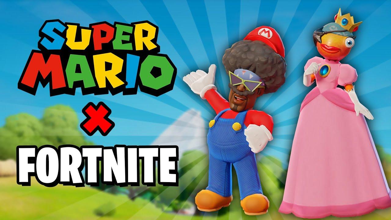 SUPER MARIO X FORTNITE!