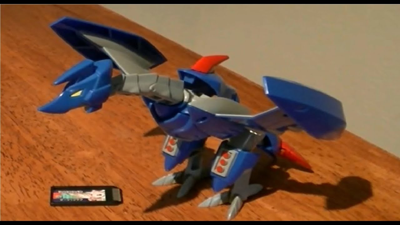 Digimon Xros Figure Series 05 Mailbirdramon Review