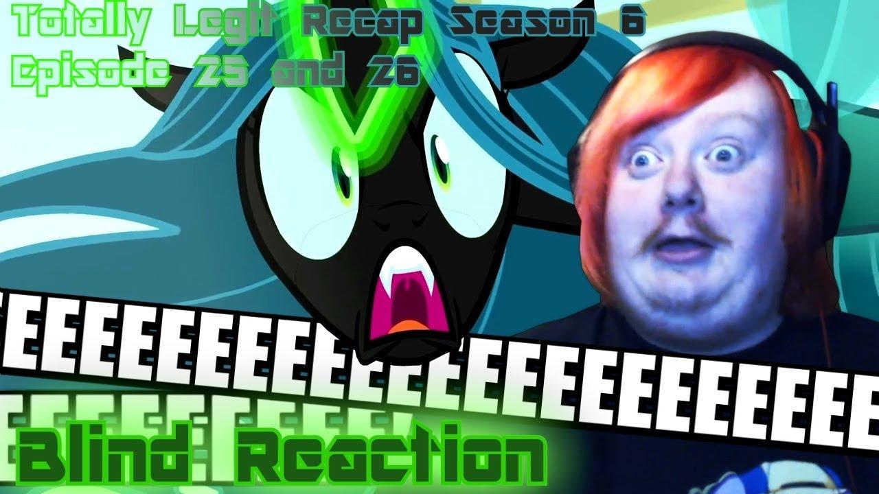 Download Blind Reaction - Totally Legit Recap Season 6 Episodes 25 & 26