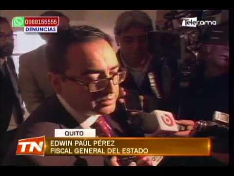 CPCCS-T posesionó al nuevo fiscal general Edwin Paúl Pérez