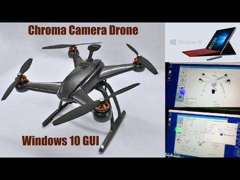 Blade Chroma Camera Drone GUI - Windows 10 / Surface Pro 4