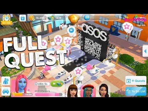The Sims Mobile ASOS Fashion Show Quest Walkthrough!