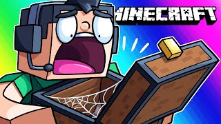 Minecraft Funny Moments: The Minority Cave - Stealing Nogla's Diamonds