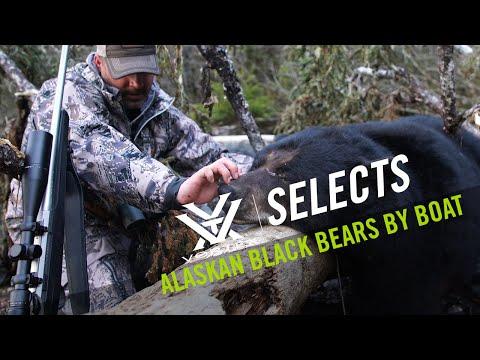 Alaskan Black Bears By Boat - Vortex Selects