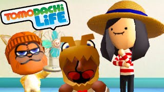 Tomodachi life 3ds garfield s bad breakup mickey mouse musical song